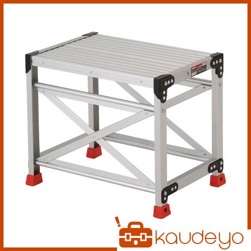 TRUSCO 作業用踏台 アルミ製・高強度タイプ 1段 TSF165 8000