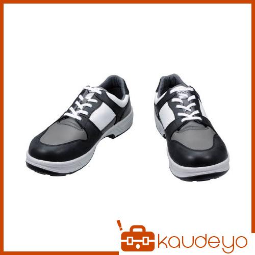 シモン トリセオシリーズ 短靴 黒/グレー 23.5cm 8512BKGR23.5 3043