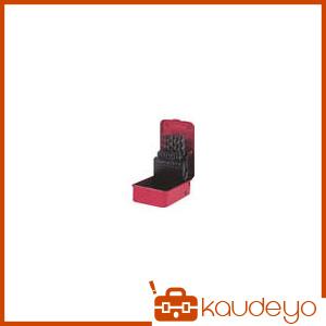 三菱K 三菱 コバルトハイスドリルセット ステンレス用 19本組 KSDSET19 2080