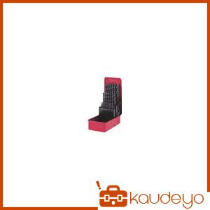 三菱K 三菱 コバルトハイスドリルセット ステンレス用 25本組 KSDSET25 2080
