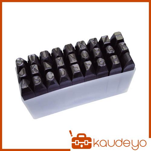 TRUSCO 逆英字刻印セット 10mm SKC100 3100