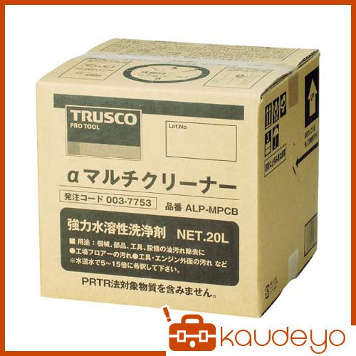 TRUSCO αマルチクリーナー 20L ALPMPCB 4050