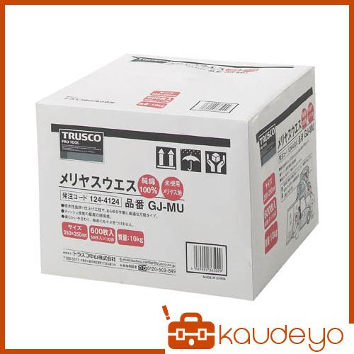 TRUSCO メリヤスウエス 柔軟タイプ 10Kg入 GJMU 8539