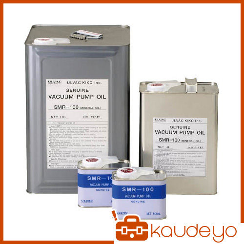 ULVAC 真空ポンプ油(SMR-100 18L缶) SMR10018L 8740