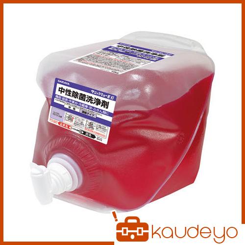 サラヤ 中性除菌洗浄剤10KG×2入 31682 3238