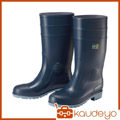 ミドリ安全 耐油・耐薬品性・静電安全長靴 W1000静電 W1000SBL25.0 7186