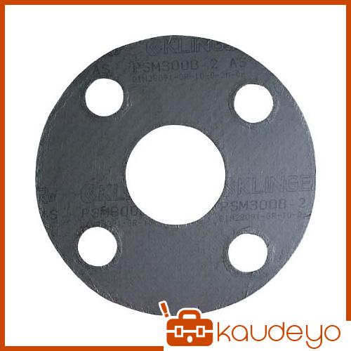 クリンガー 膨張黒鉛ガスケット(ステンレス爪付鋼板入り) 5枚入り PSM10K50A 2317
