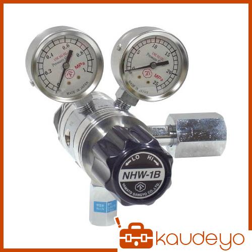 ヤマト 分析機用フィン付二段圧力調整器 NHW-1B NHW1BTRCCH4 8010