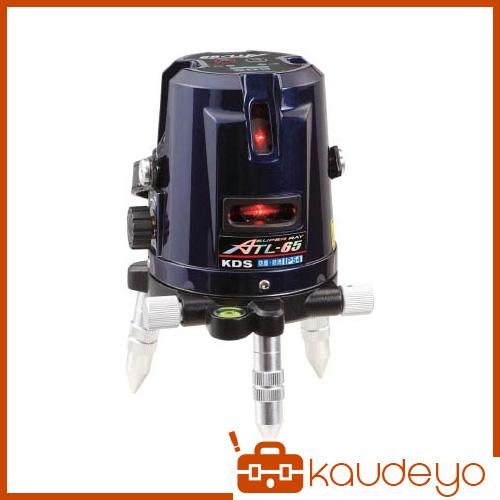 KDS レーザー墨出器スーパーレイ65受光器・三脚付 ATL65RSA 8591
