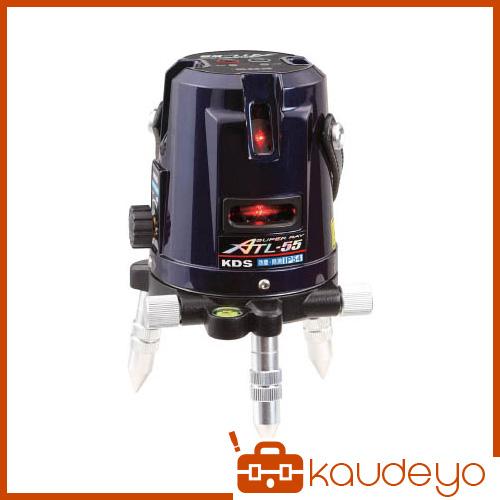 KDS レーザー墨出器スーパーレイ55受光器・三脚付 ATL55RSA 8591
