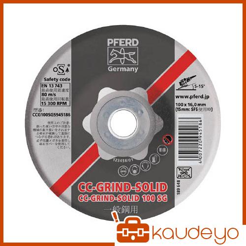 PFERD CCグラインドソリッド 180X22 SGステンレス CCG180SGI945223 6251 10枚
