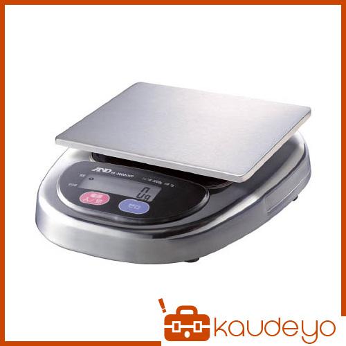 A&D 防塵・防水デジタルはかりウォーターボーイ皿寸法174×137mm HL3000LWP 8503