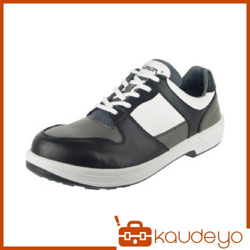 シモン トリセオシリーズ 短靴 黒/グレー 26.5cm 8512BKGR26.5 3043