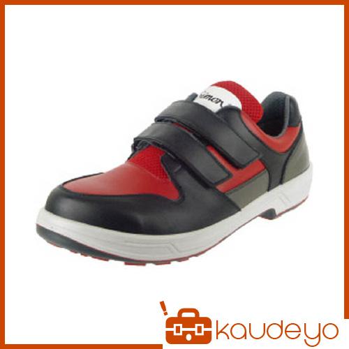 シモン トリセオシリーズ 短靴 赤/黒 24.0cm 8518REDBK24.0 3043