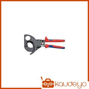 KNIPEX ラチェットケーブルカッター 280mm 9531280 2316
