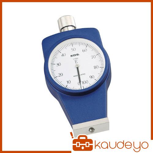 KDS ゴム硬度計Eタイプ標準型 DM107E 8591