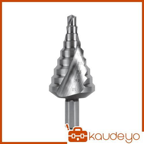 RUKO 2枚刃スパイラルステップドリル 32.5mm 101092 8137