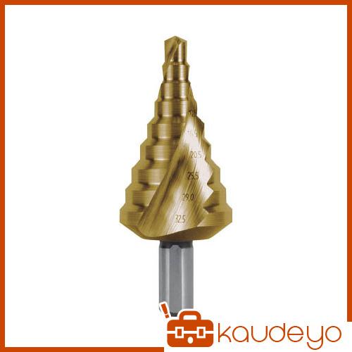 RUKO 2枚刃スパイラルステップドリル 32.5mm チタン 101092T 8137