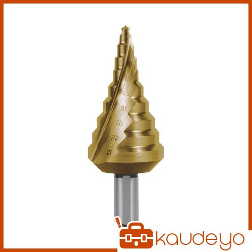 RUKO 2枚刃スパイラルステップドリル 30.5mm チタン 101093T 8137
