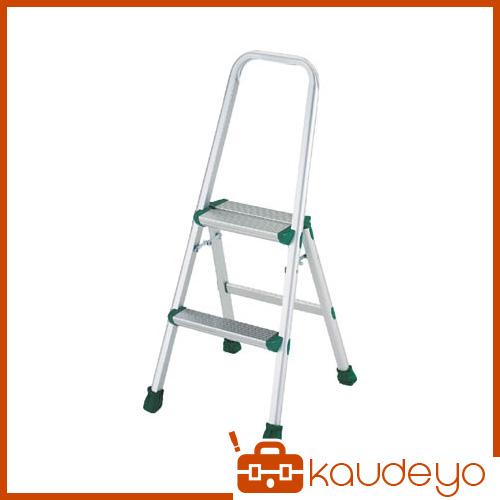 TRUSCO アルミ製踏台 軽作業用・上枠・脚カバー付 2段 TAU2 8000