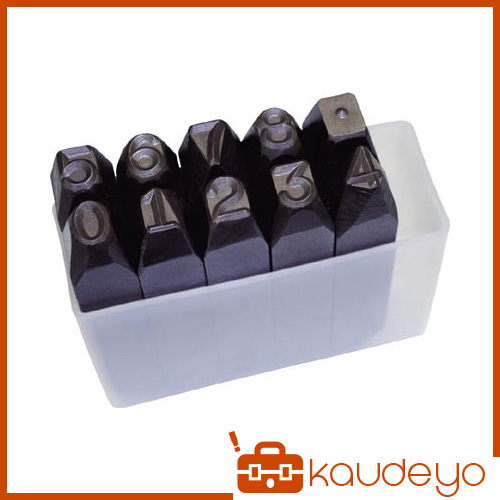 TRUSCO 逆数字刻印セット 13mm SKB130 3100