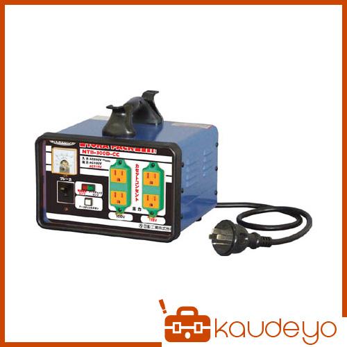 日動 変圧器 降圧専用カセットコンセントトラパック 3KVA NTB300DCC 5026