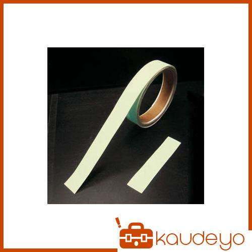 緑十字 BBA-5010 高輝度蓄光青色テープ 50mm幅×10m 189501 7047