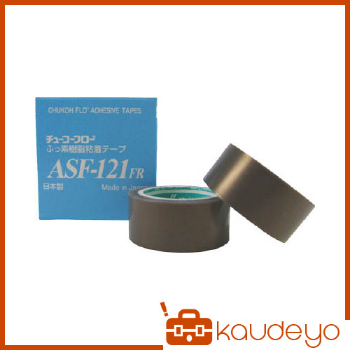 チューコーフロー フッ素樹脂粘着テープ 0.23-10×50 ASF121FR23X50 4296