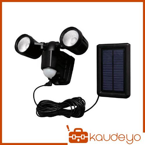 IRIS ソーラー式センサーライト 400lm 白色 2灯式 高輝度 LSLSBTN400 1256