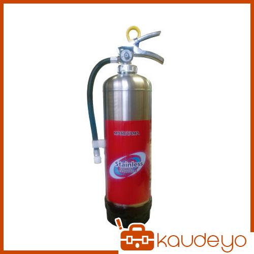 マルヤマ 蓄圧式強化液ステンレス消火器3L KLB3PSUS 7214