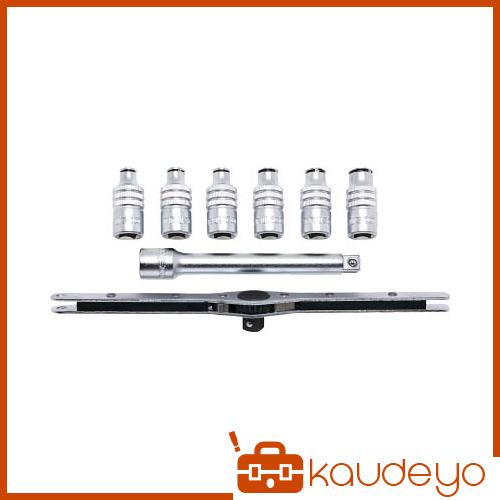 TRUSCO 3/8 9.5mm差込 タップホルダーセット 8個組 TTHS8 3100