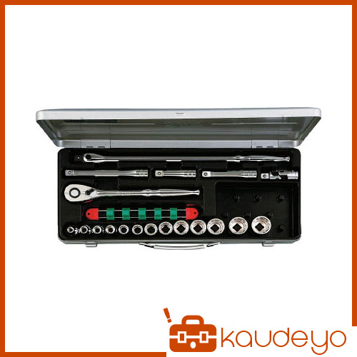KTC 12.7sq.ソケットレンチセット[19点] TB413X 2285