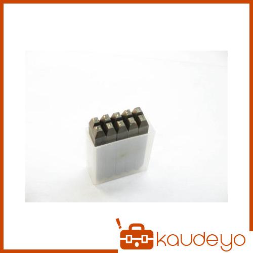 TRUSCO 逆数字刻印セット 6mm SKB60 3100