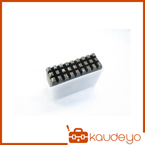 TRUSCO 英字刻印セット 6mm SKA60 3100