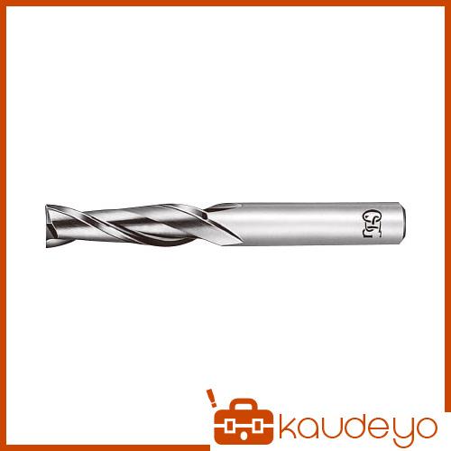 OSG 超硬エンドミル 2刃ロング 銅・アルミ合金用 8 CARGEDL8 8669