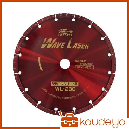 エビ ダイヤモンドホイール ウェブレーザー(乾式) 230mm WL230 1065
