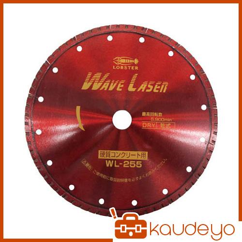 エビ ダイヤモンドホイール ウェブレーザー(乾式) 260mm穴径20mm WL25520 1065