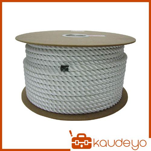 ユタカ ナイロン3打ロープドラム巻 16φ×100m PRJ16 8200