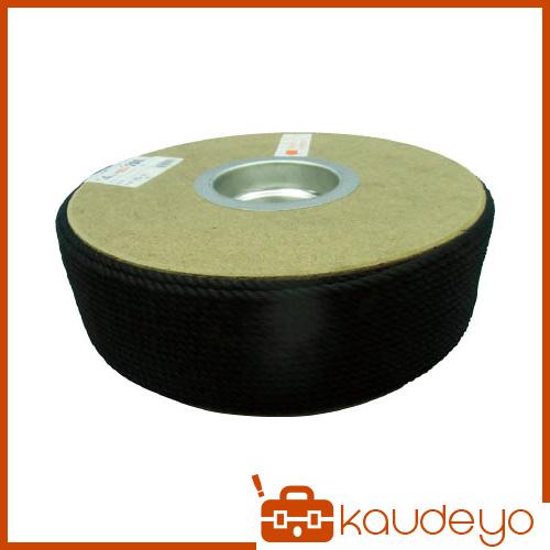 ユタカ ポリエステルロープ ドラム巻 4φ×200m 黒 PRS81 8200