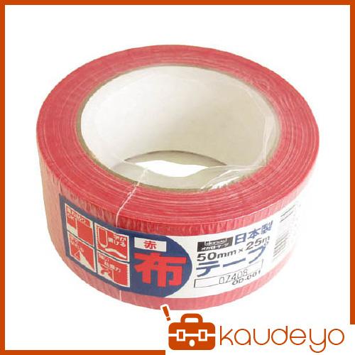 オカモト 布テープカラーOD-001 赤 OD001R 1310 30巻