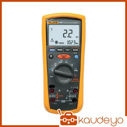 FLUKE デジタル・マルチメーター付絶縁抵抗計(5レンジ) 1587 6366