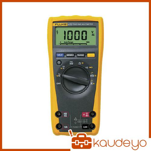 FLUKE デジタル・マルチメーター(真の実効値・バックライト仕様) 177 6366