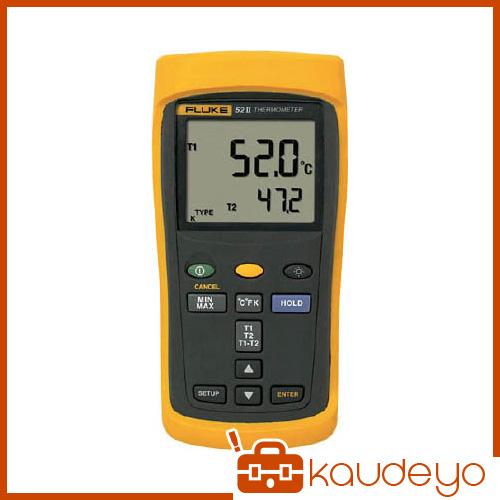FLUKE 温度計(2チャンネル) 522 6366