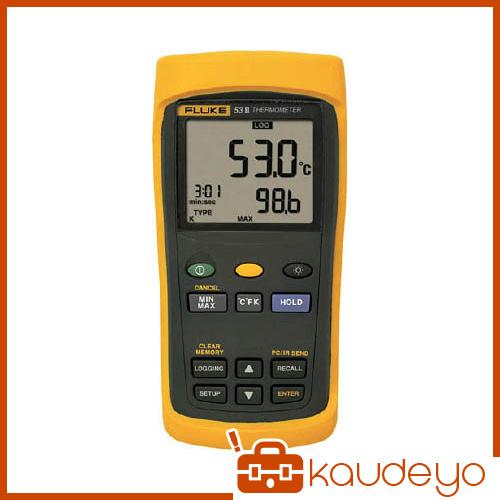 FLUKE 温度計(ロガー機能付・1チャンネル) 532B 6366