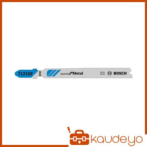 スイスの専用工場で生産した品質の高いジグソーブレードです セール特価 ボッシュ ファクトリーアウトレット ジグソーブレード5本 T121GF 6250