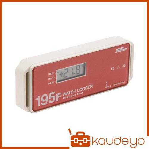 Fujita 表示付温度・衝撃データロガー(フェリカタイプ) KT195F 6282