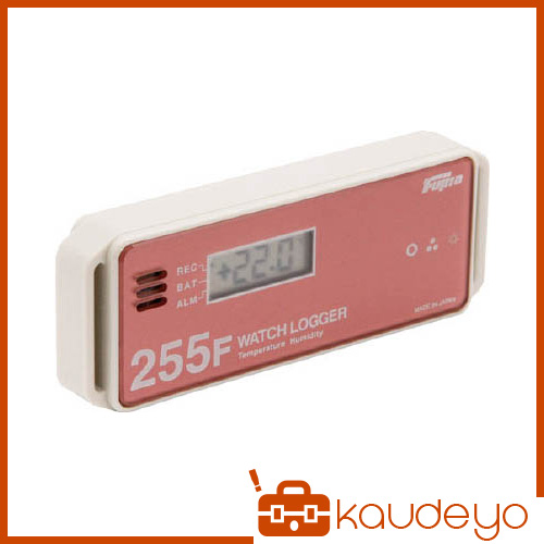 Fujita 表示付温湿度データロガー(フェリカタイプ) KT255F 6282