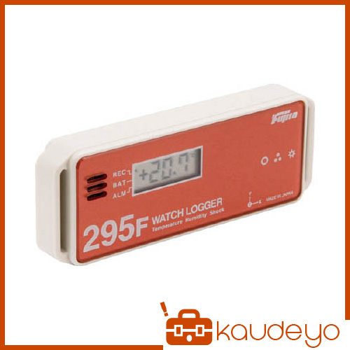 Fujita 表示付温湿度・衝撃データロガー(フェリカタイプ) KT295F 6282