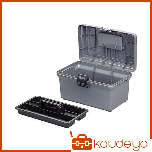 ビスなどの小物も収納できるパーテーション付の中皿が付いています 車載工具入れとして最適です 激安通販ショッピング IRIS 工具ケース ハードケース 350×220×210 好評 グレー 400G 1256