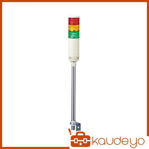 パトライト LE-P型 LED薄型小型積層信号灯 Φ50 点灯・点滅/ブザー LE302FBPRYG 3009